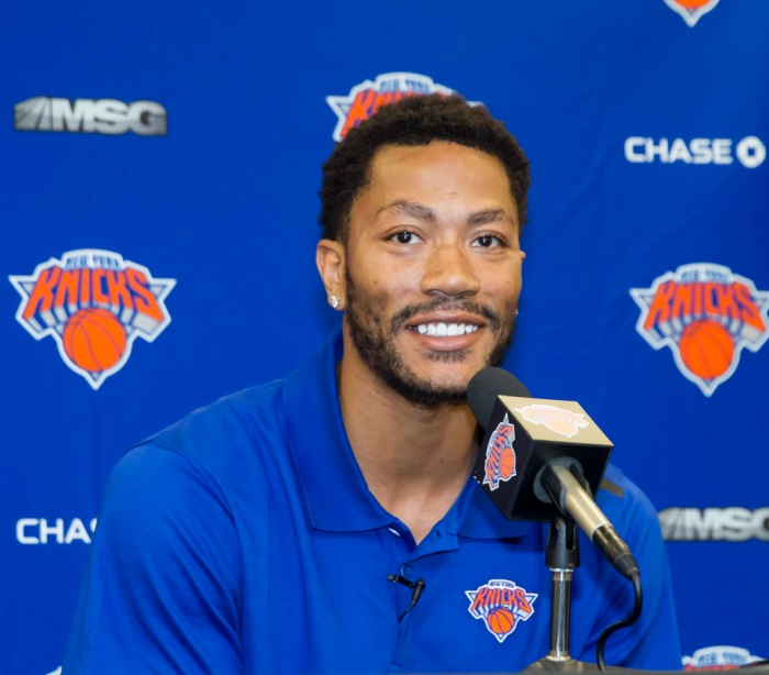 Derrick Rose Media Availability