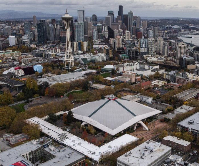 KEYARENA DEVELOPMENT PLAN EMERGES