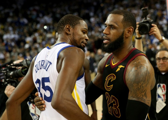GOLDEN STATE WARRIORS VS. CLEVELAND CAVALIERS